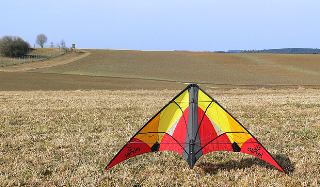 Stunt Kites Red & Yellow