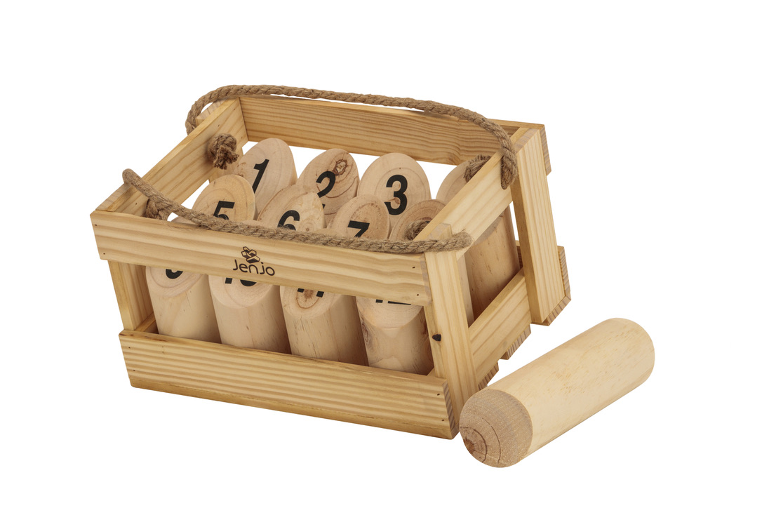 Molkky Scatter Smite & Scattles Wood Throwing Game
