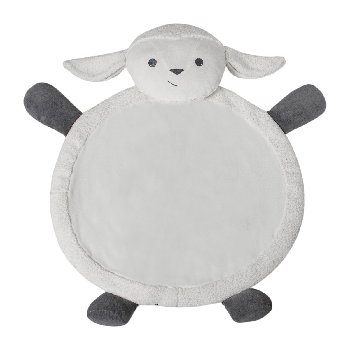 Animal Plush Mat - Lamb