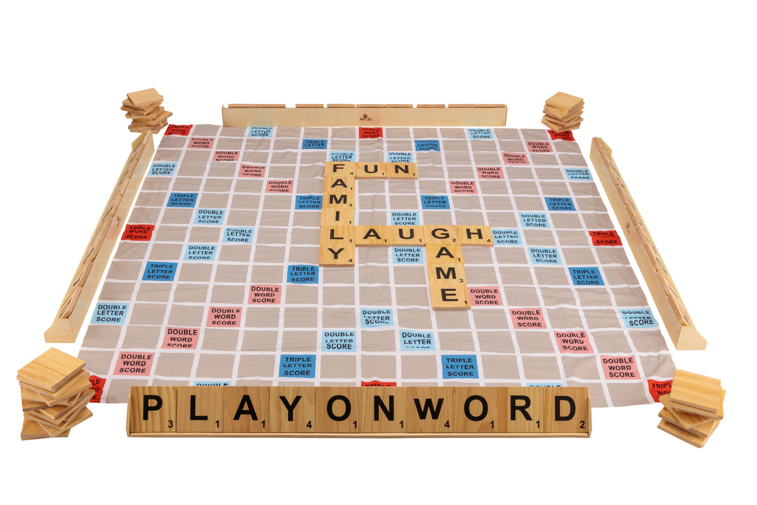 Giant Size play On Words Set w/Carry Bag & Playing Mat 1.5x1.5m