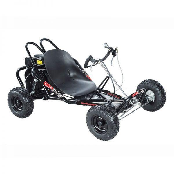 GMX Drift 200cc Go Kart Electric Start - Black