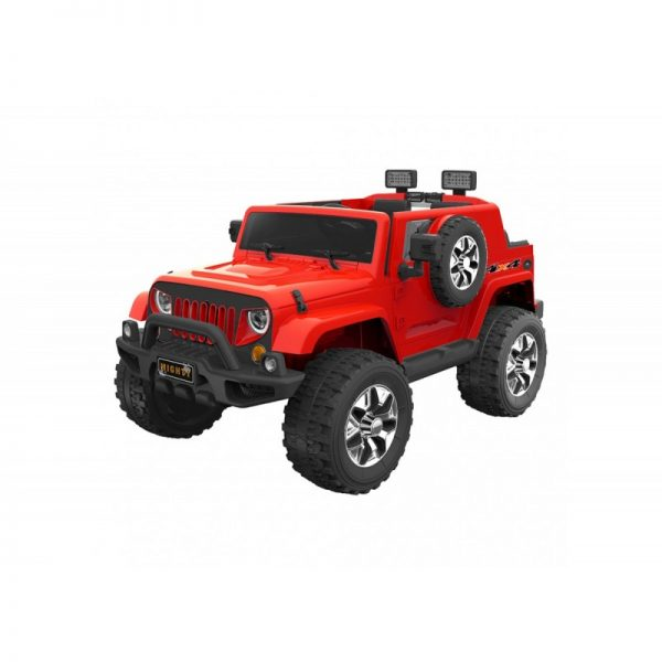 Go Skitz 12V Electric Ride On with spare wheel - Red