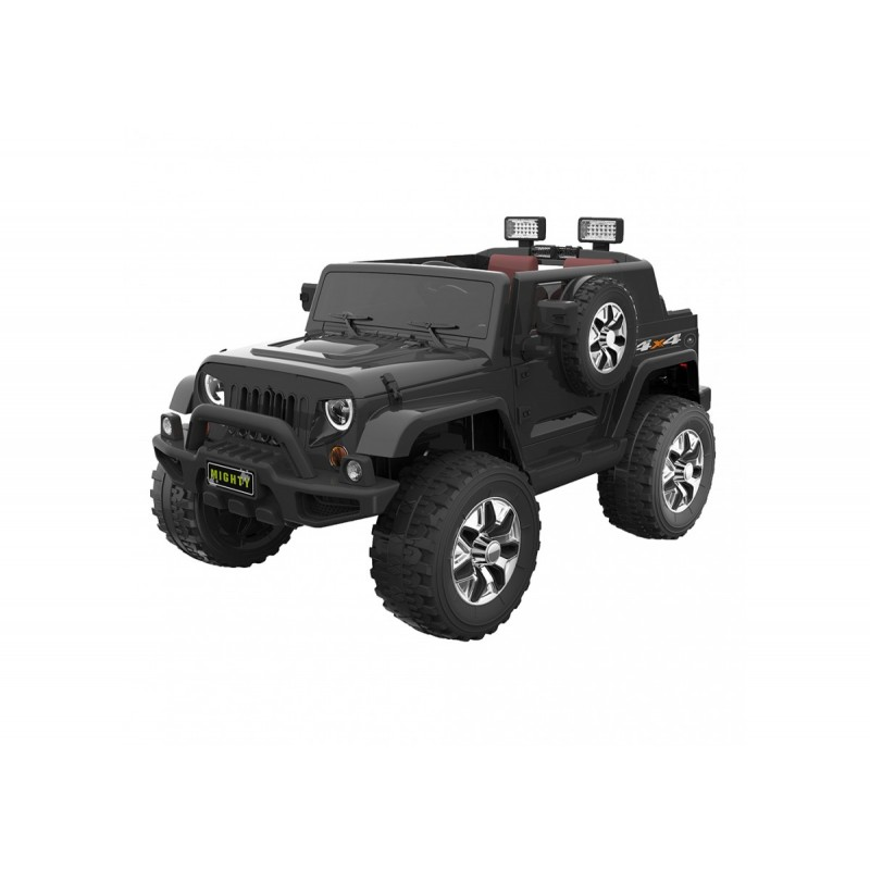 Go Skitz 12V Electric Ride On with spare wheel - Black