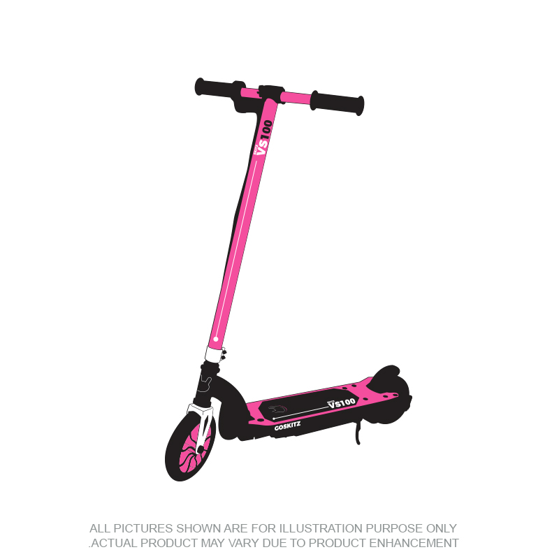 Go Skitz VS100 Electric Scooter Pink