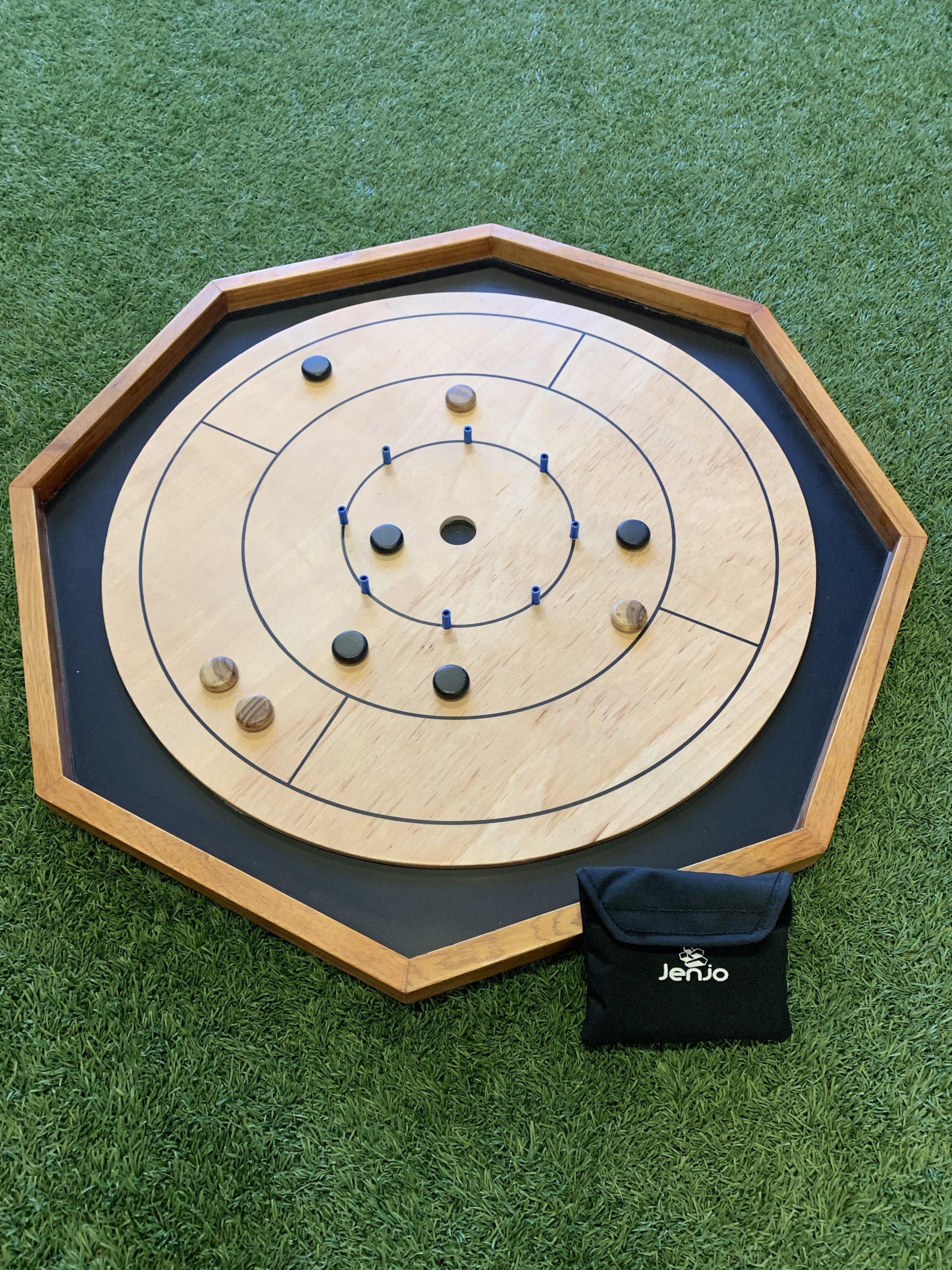 Championship Crokinole Octagone Frame 80cm Diameter