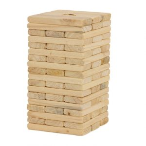 54 Piece Outdoor Giant Jenjo Wooden Block Game 38cm