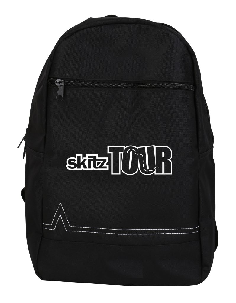 Go Skitz Tour Foldable Scooter With Backpack Black