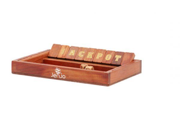 Jackpot /Shut The Box Board Game