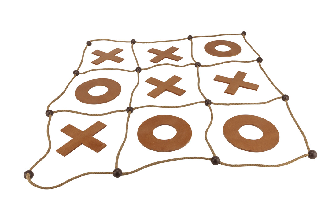 Giant Noughts And Crosses Tic Tac Toe Game Set