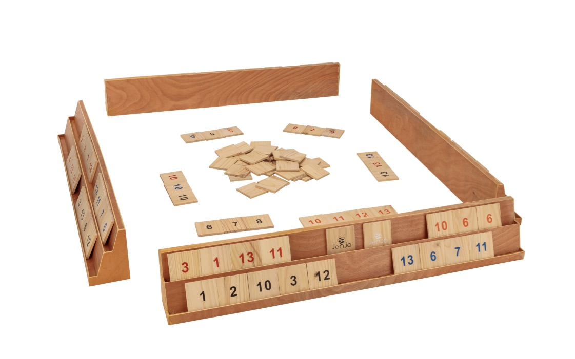 Wooden Giant Rummy Game w/Carry Bag