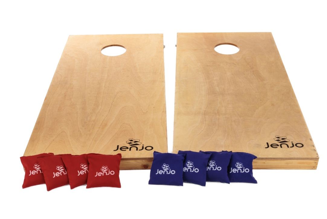 Competition Cornhole Boards & Bean Bag Toss Game Set 120X60cm
