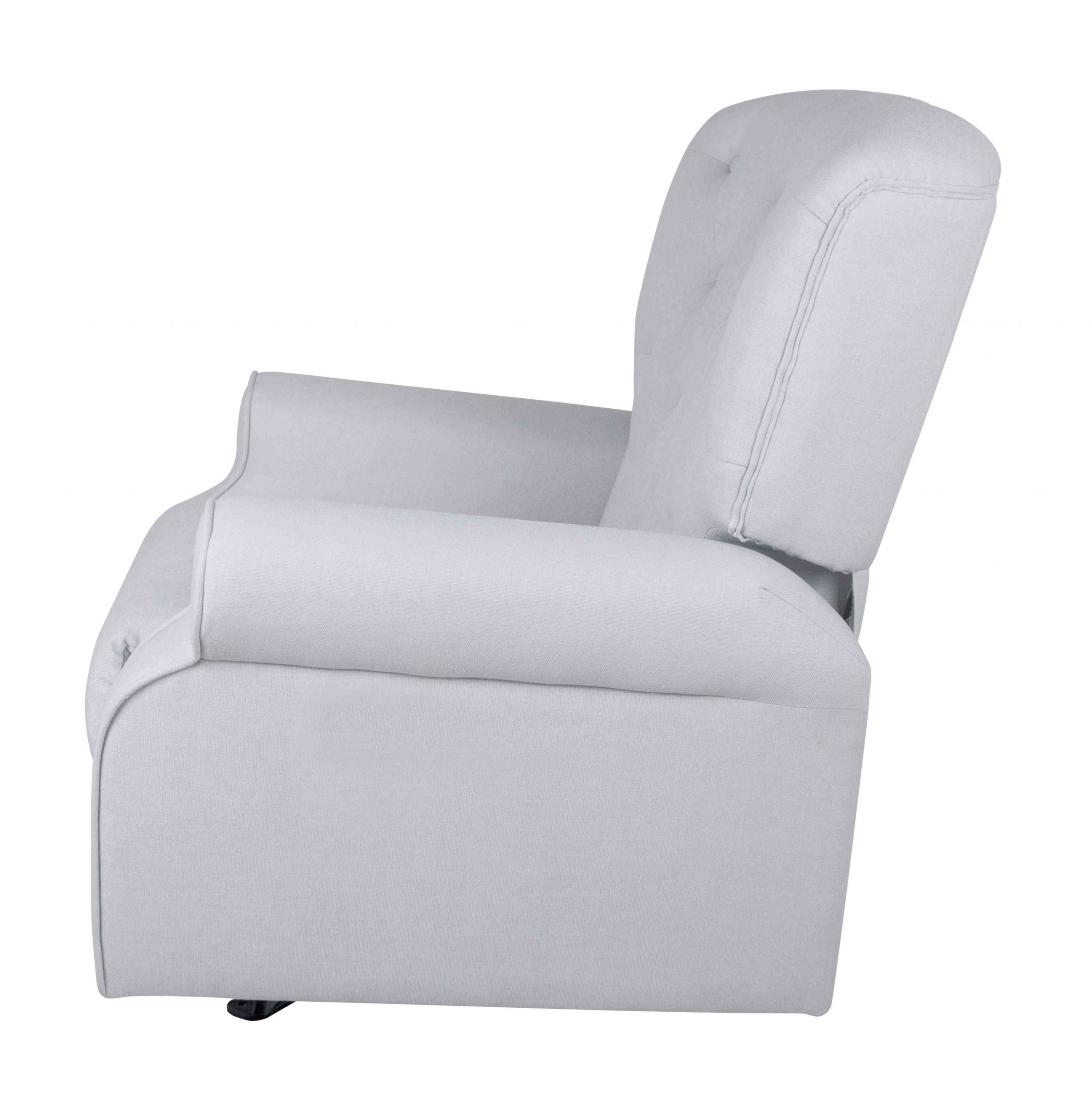 Chester Rocking Chair - Silver