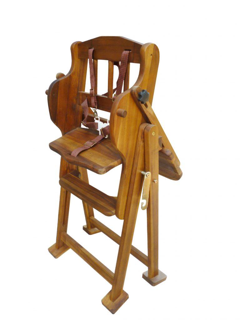 Adjustable/Hi Lo High Chair (Acacia)