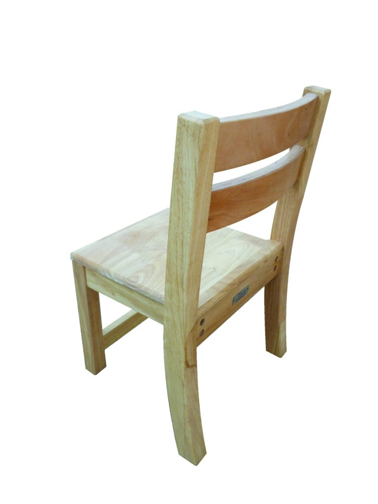 Rubberwood Stacking Chairs