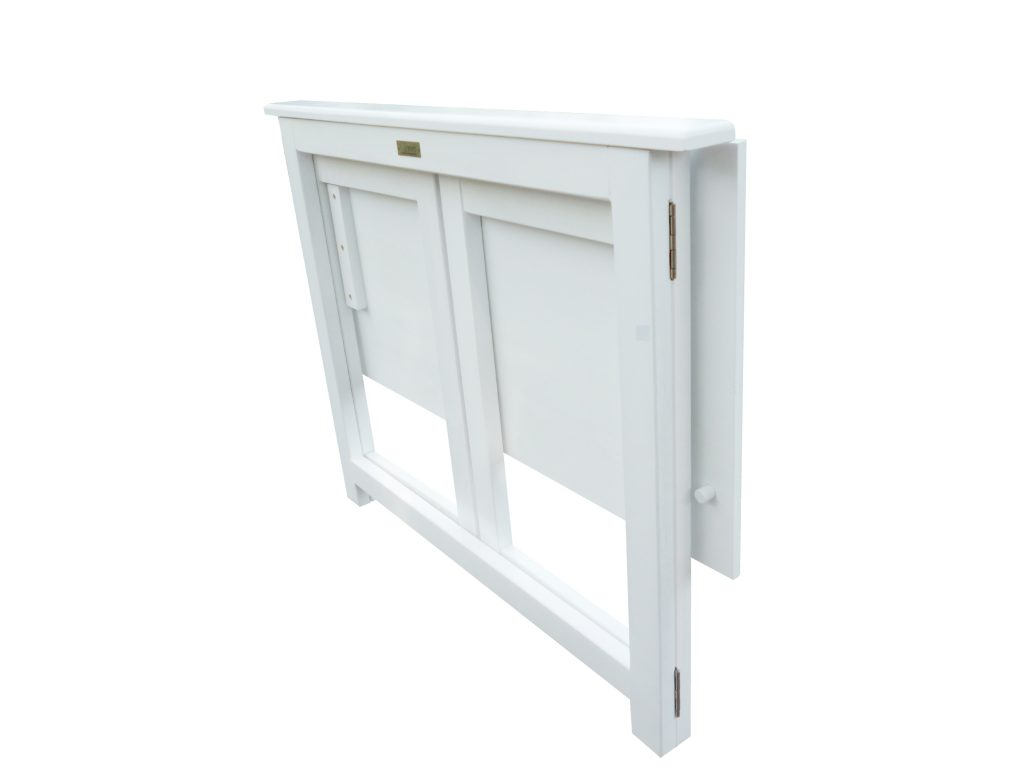 French White Foldable Teen Desk Set