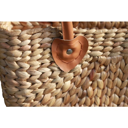 Woven Carry Basket (42x32x18cm)