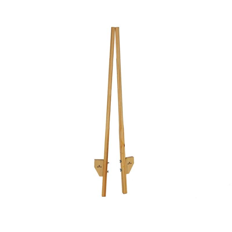 180cm Walking Wooden Stilts With 3 Platforms