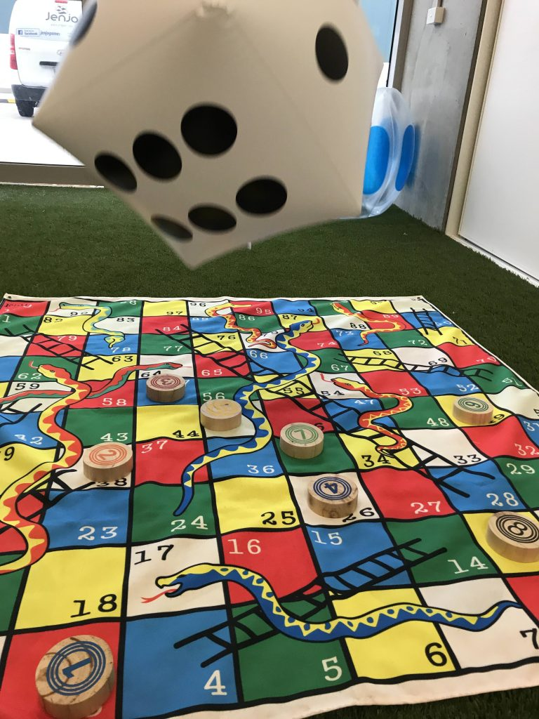 2 in 1 Giant Snakes, Dots & Ladders 1.5 MAT
