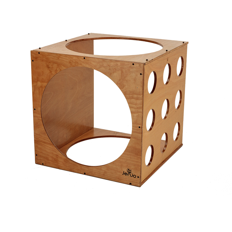 HardwoodClimbing Cube For Kids 60cm Diameter