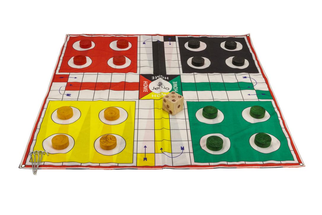 2 in 1 Giant Game Ludo & Backgammon 1.5 MAT