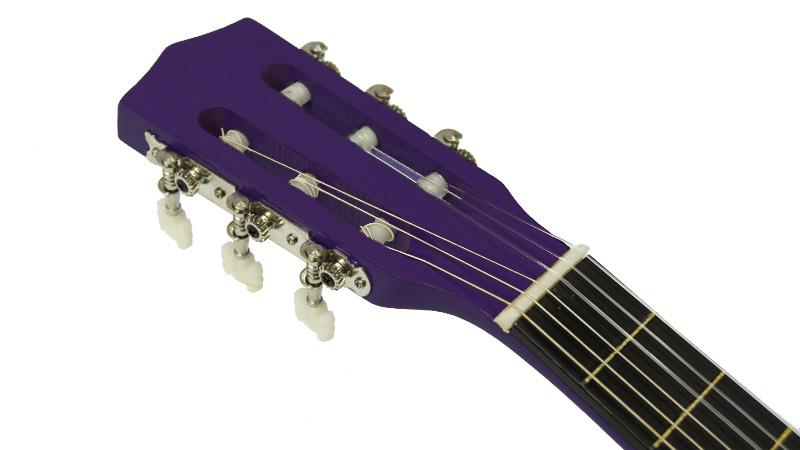 Karrera 34in Acoustic Children no cut Guitar - Purple