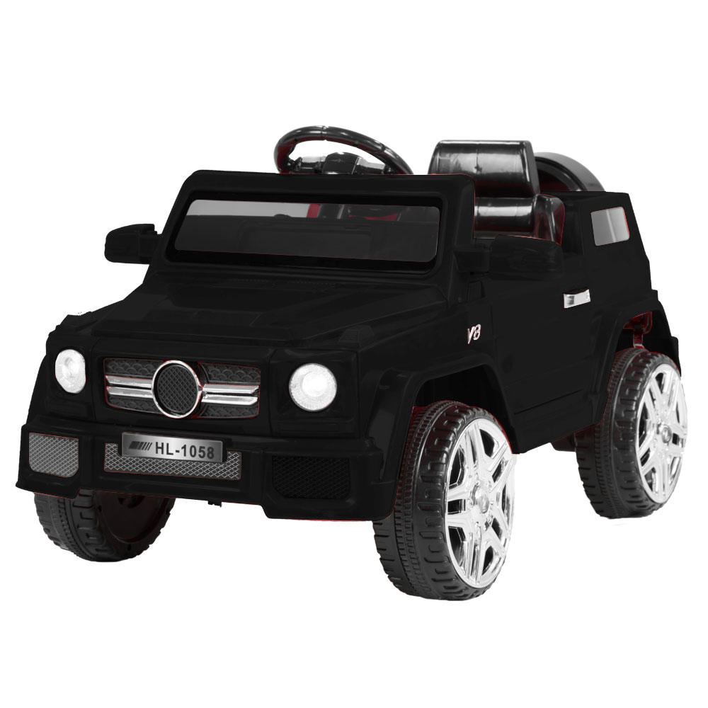 Mercedes Benz Inspired 12v Ride-On Kids Car Remote Control - Black