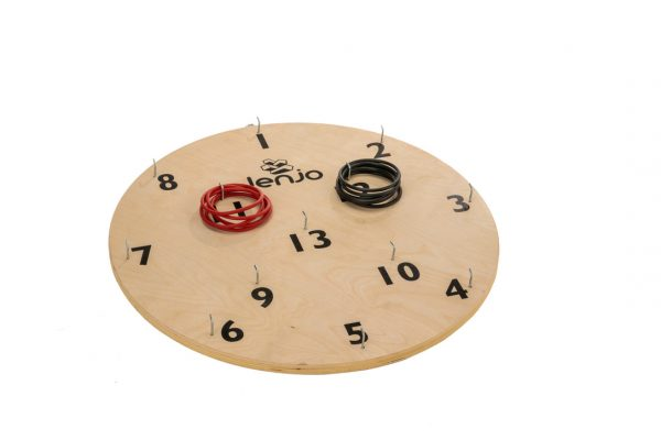 Wooden Giant Hookey Ring Board Lawn Game 68cm diameter