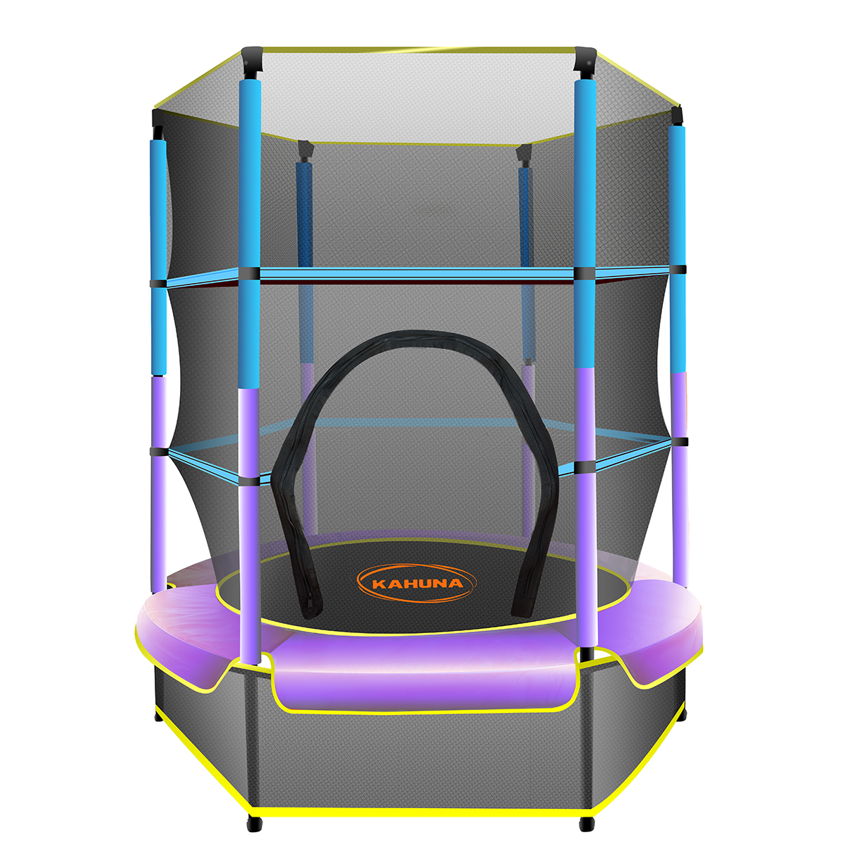 Kahuna Mini 4.5ft Trampoline Blue Purple