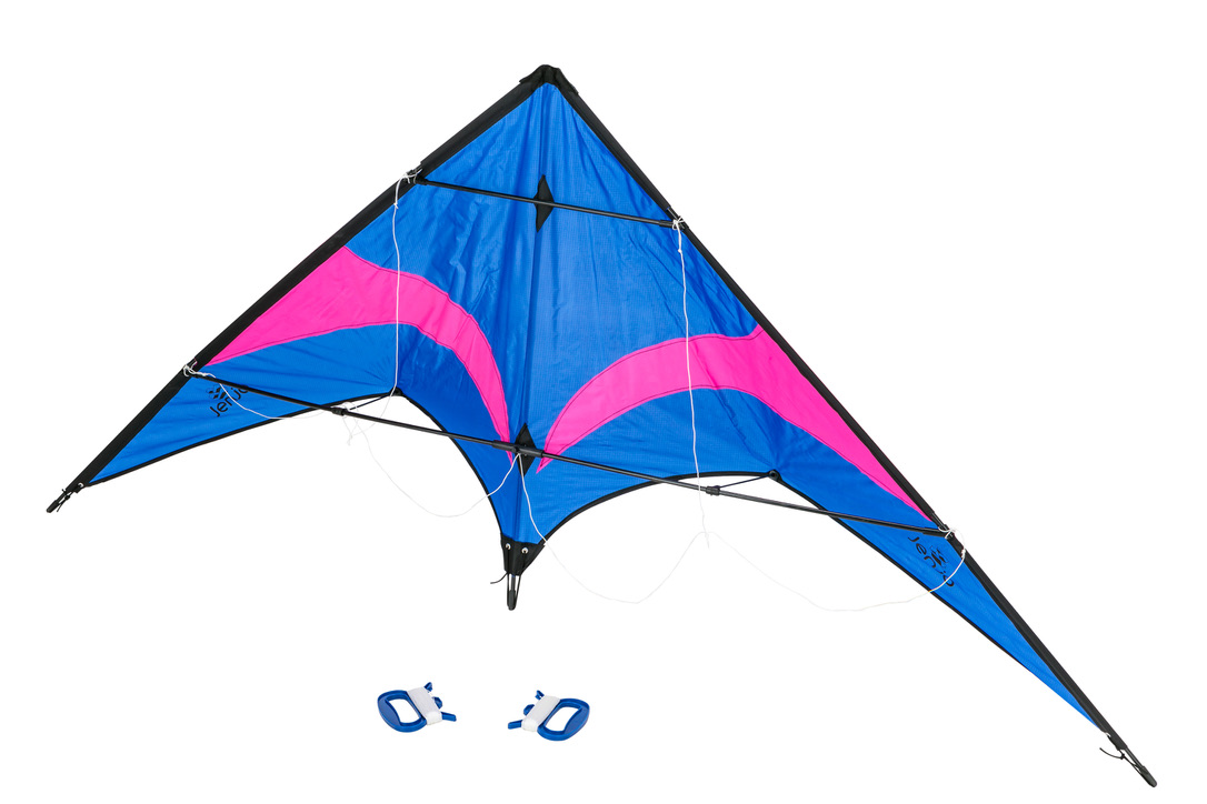 Stunt Kite Blue & Purple
