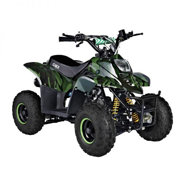 GMX Ripper 70cc Sports Quad Bike Camo Green