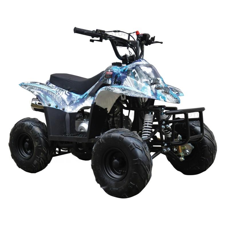 GMX 110cc Sports Quad Bike - Blue