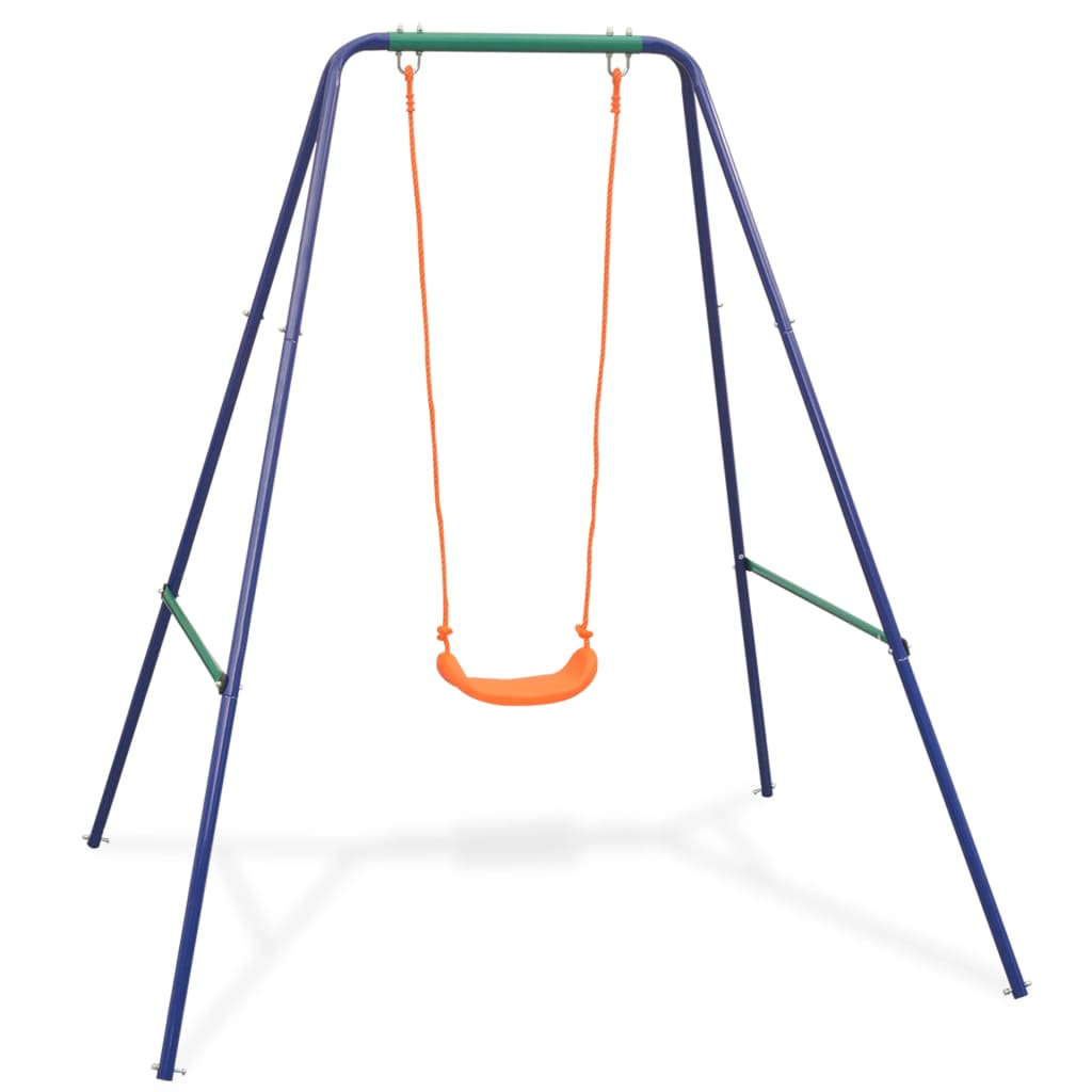 2-in-1 Single Swing and Toddler Swing Orange