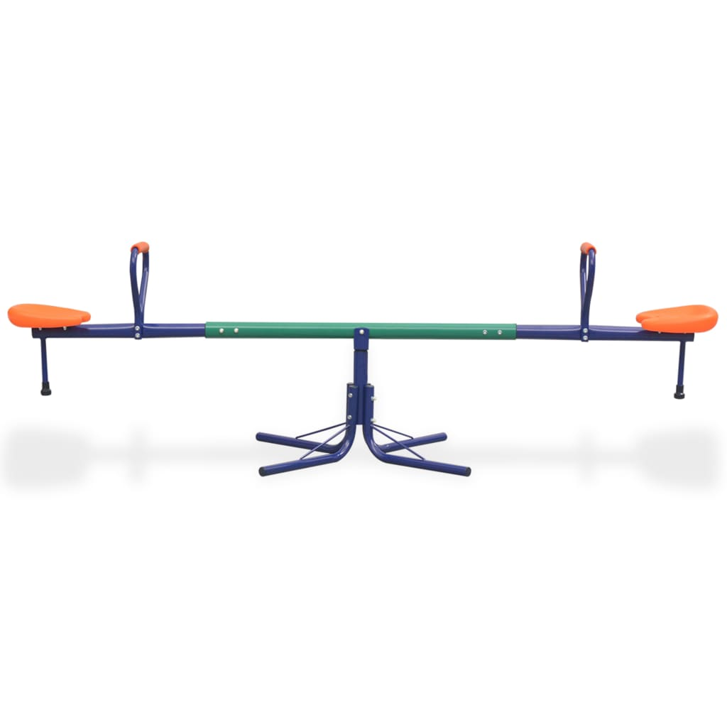 360-Degree Rotating Seesaw Orange