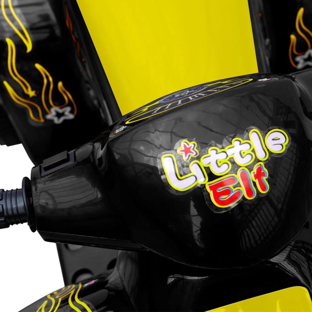 Kids Quad Bike Electric Yellow & Black