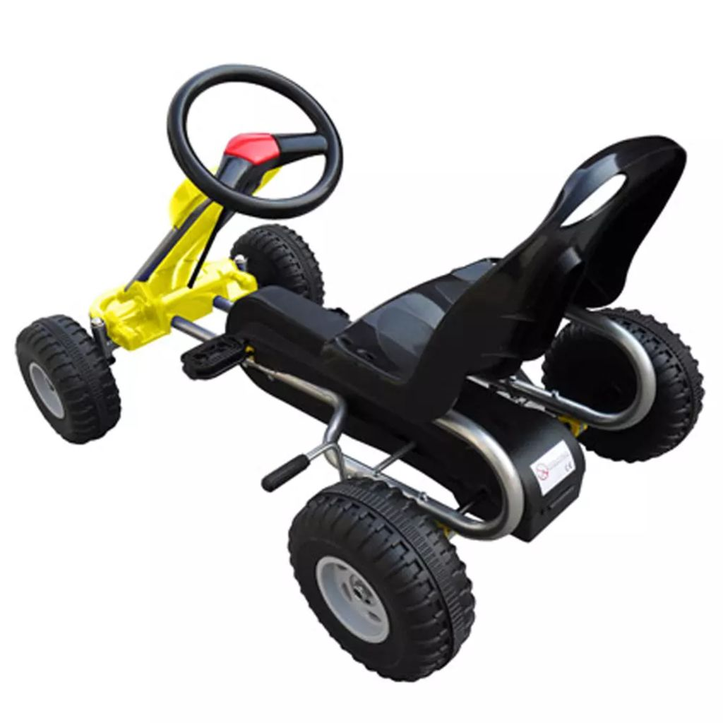 Pedal Go Kart Yellow