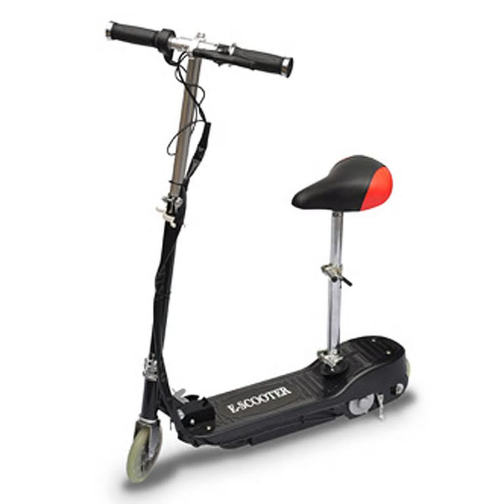 Electric Scooter with Seat 120 W Black