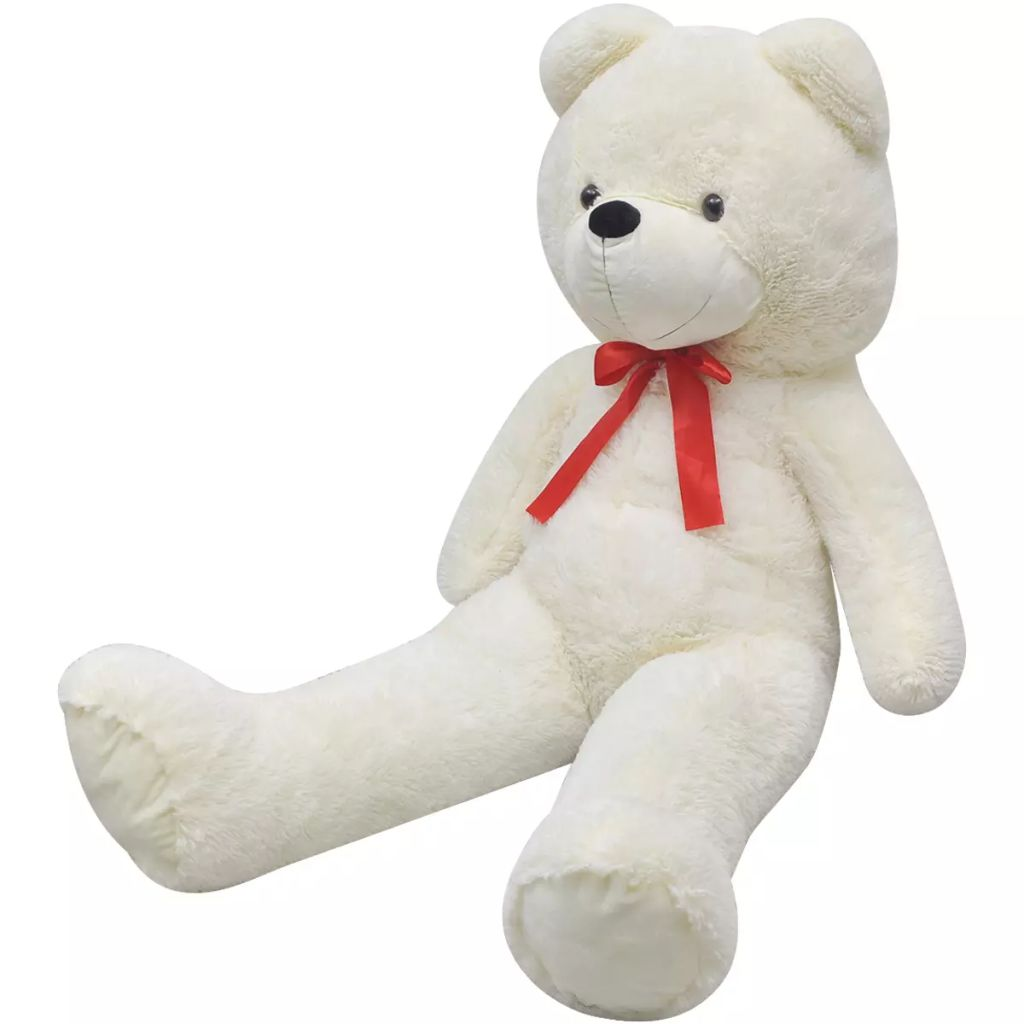 XXL Soft Plush Teddy Bear Toy White 100 cm
