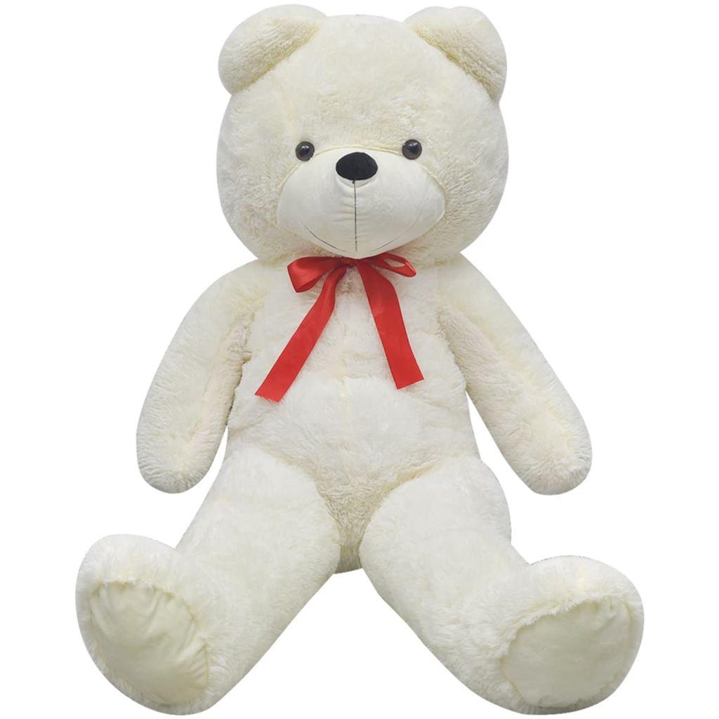 XXL Soft Plush Teddy Bear Toy White 175 cm