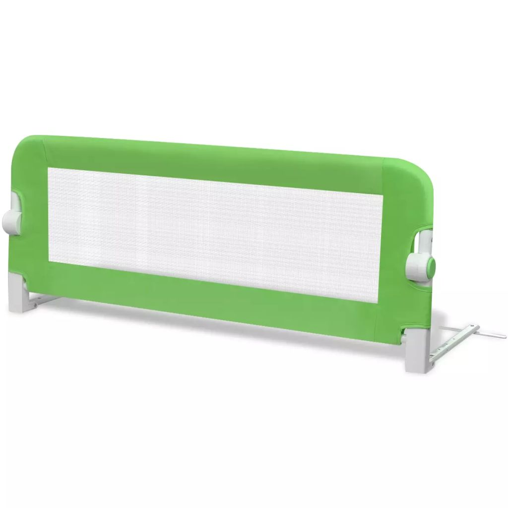 Toddler Safety Bed Rail 102 x 42 cm Green