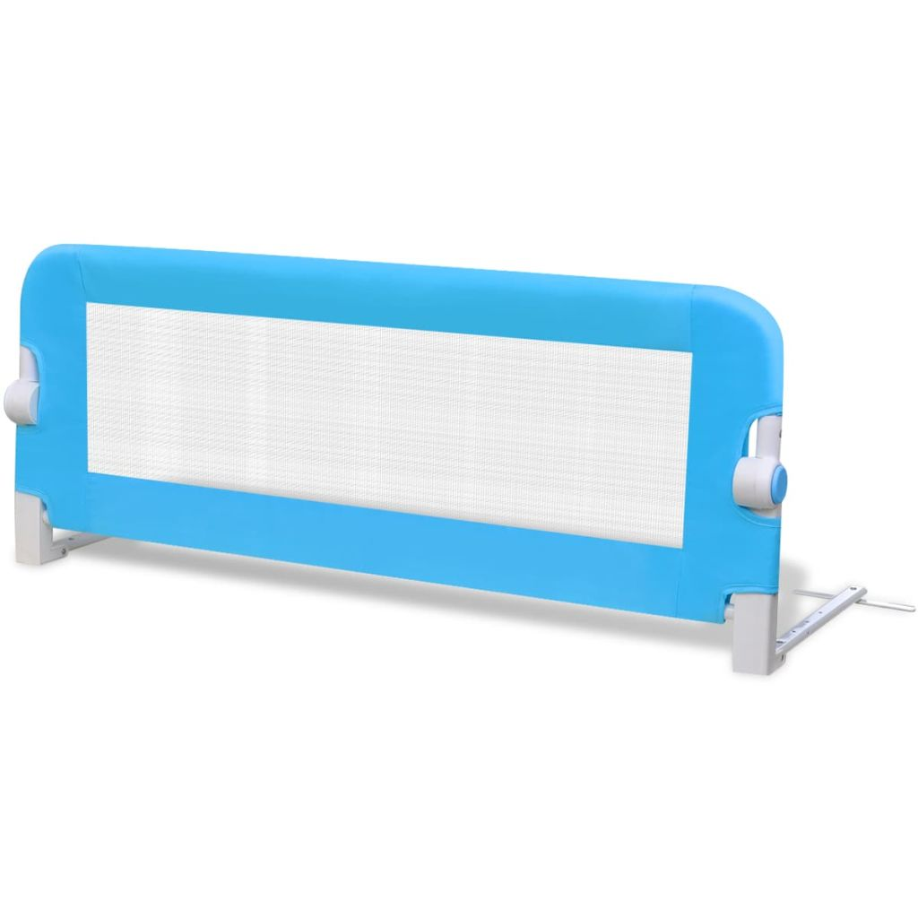 Toddler Safety Bed Rail 102 x 42 cm Blue