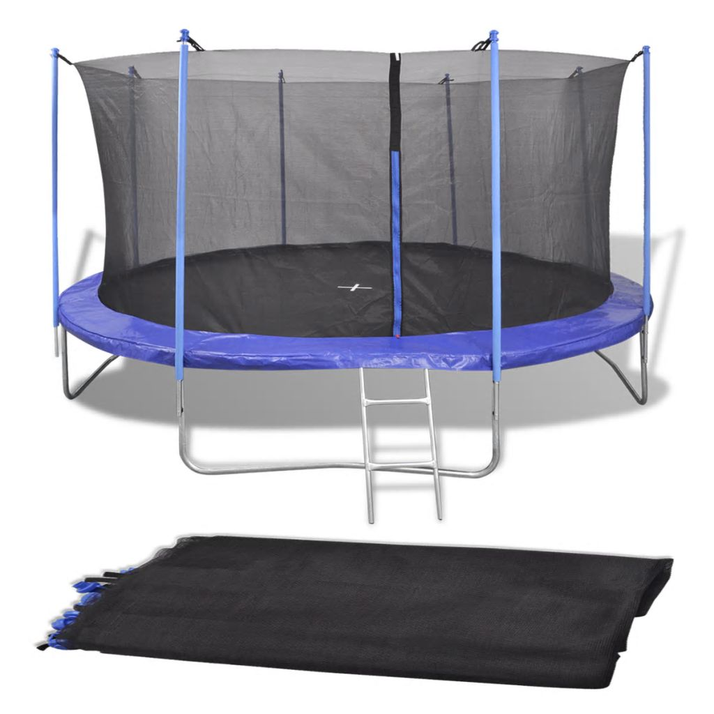 Safety Net PE Black for 3.96 m Round Trampoline
