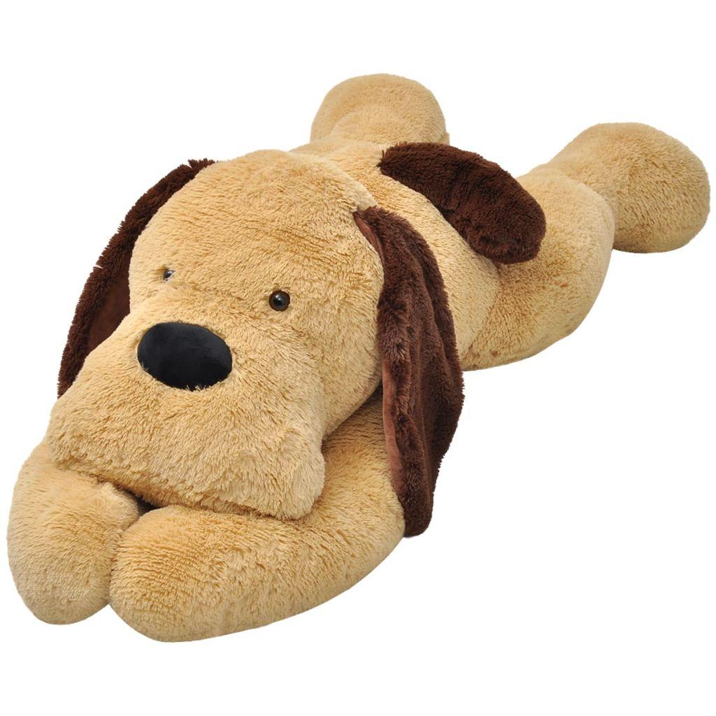 Dog Cuddly Toy Plush Brown 160 cm