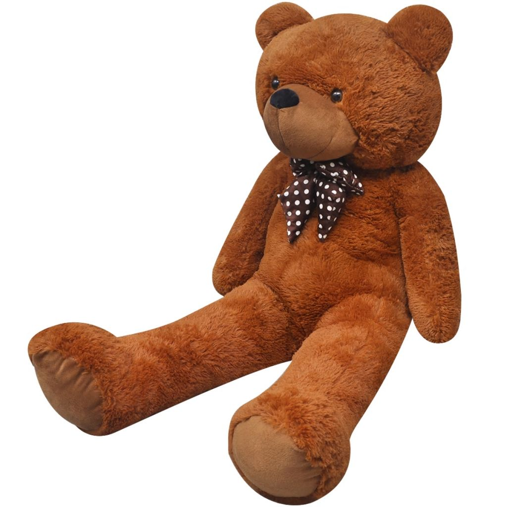 Teddy Bear Cuddly Toy Plush Brown 260 cm